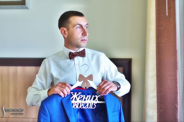 Свадебные фото на Мануфактуре и выездная церемония в ресторане Kidev - фото №10