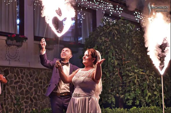 Свадебные фото на Мануфактуре и выездная церемония в ресторане Kidev - фото №91