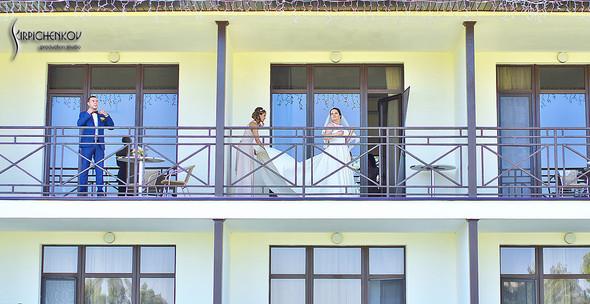 Свадебные фото на Мануфактуре и выездная церемония в ресторане Kidev - фото №24