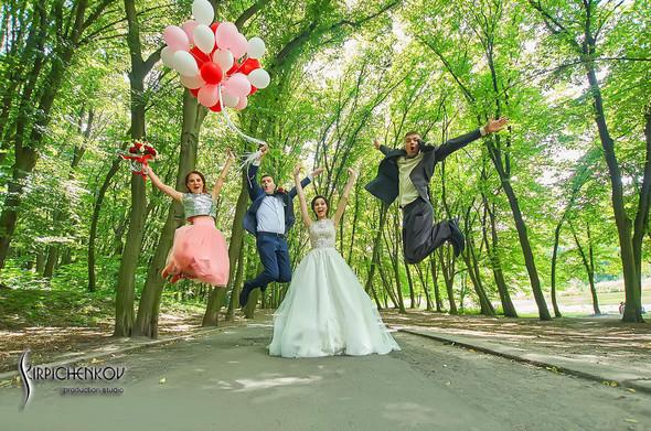 Свадьба на природе возле частного дома с выездной церемонией - фото №47