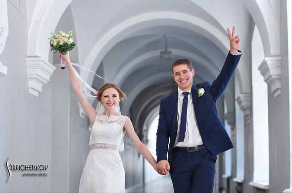 Свадебные фото в каньоне Буки и выездная церемония в ресторане Фортеця - фото №24