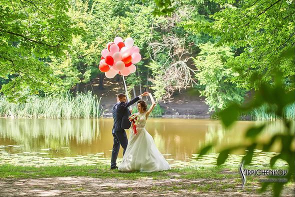 Свадьба на природе возле частного дома с выездной церемонией - фото №50