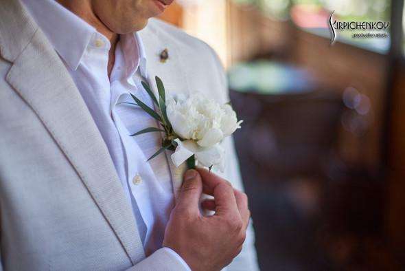 Свадебные фото на территории Соби Клаб, выездная церемония - фото №18