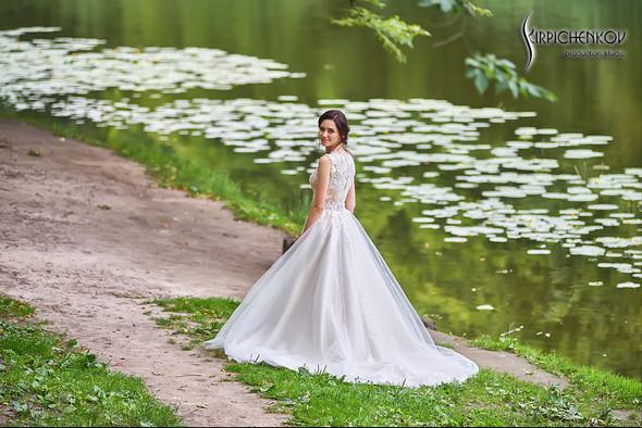 Свадьба на природе возле частного дома с выездной церемонией - фото №39