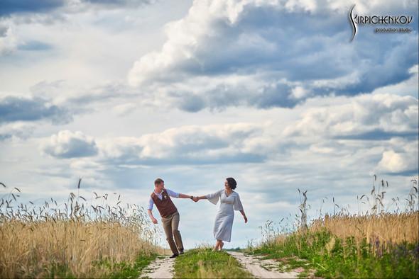 Свадебные фото в Сухолучье, Киевское море и сьемка в поле  - фото №19