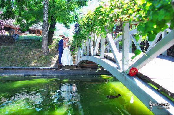 Свадебные фото на Мануфактуре и выездная церемония в ресторане Kidev - фото №36
