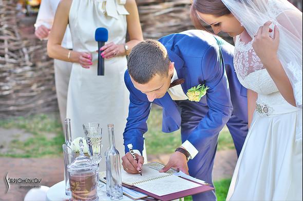 Свадебные фото на Мануфактуре и выездная церемония в ресторане Kidev - фото №83