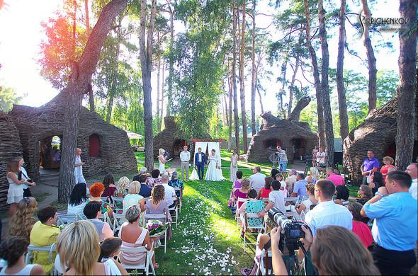 Свадебные фото на Мануфактуре и выездная церемония в ресторане Kidev - фото №73