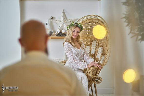 Свадебные фото в Оранжерее в Киеве, студийная сьемка в фотостудии Счастье - фото №42