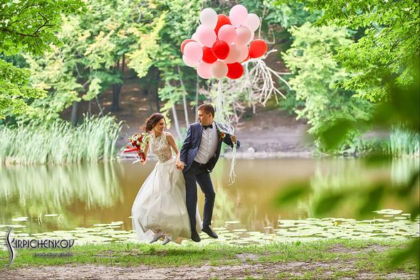 Свадьба на природе возле частного дома с выездной церемонией - фото №51