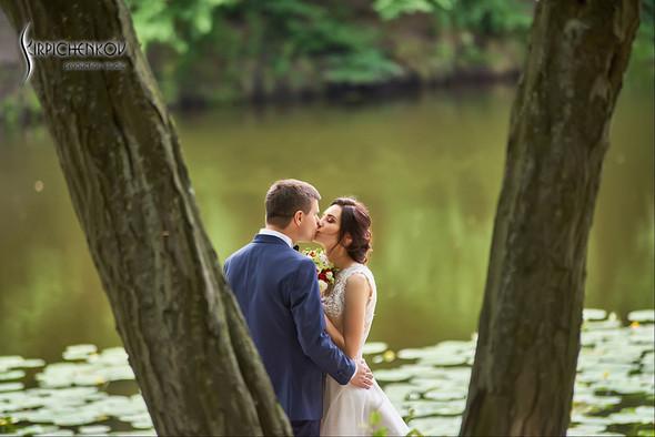 Свадьба на природе возле частного дома с выездной церемонией - фото №41