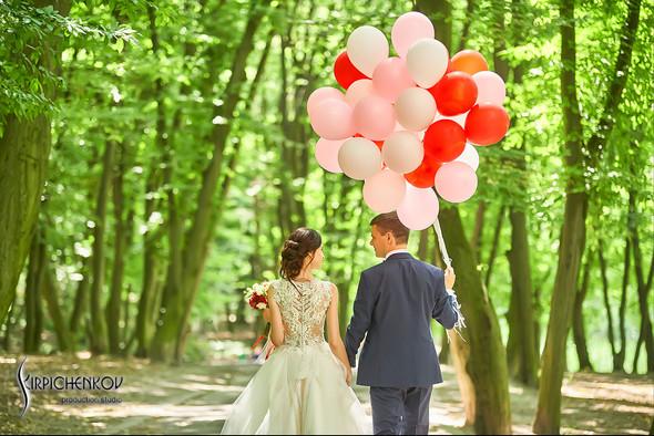 Свадьба на природе возле частного дома с выездной церемонией - фото №48