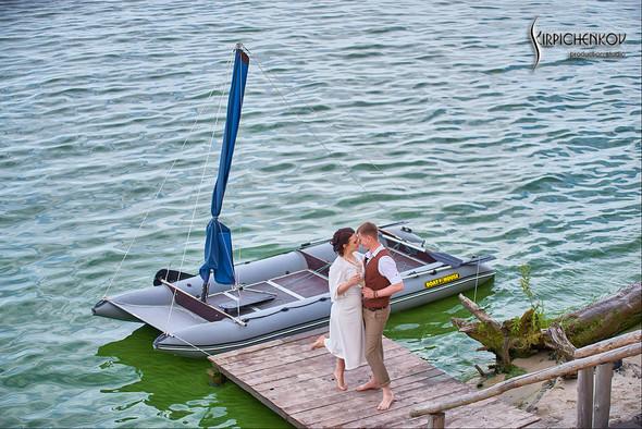 Свадебные фото в Сухолучье, Киевское море и сьемка в поле  - фото №5