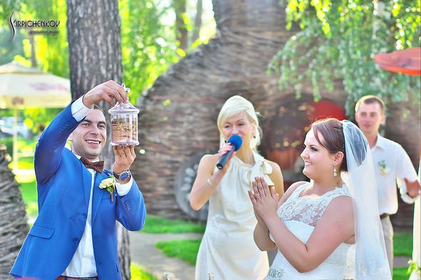 Свадебные фото на Мануфактуре и выездная церемония в ресторане Kidev - фото №79
