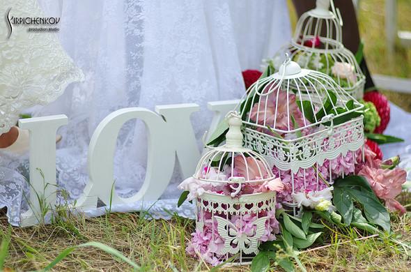 Свадебные фото в яблочном саду, г. Чернигов - фото №12
