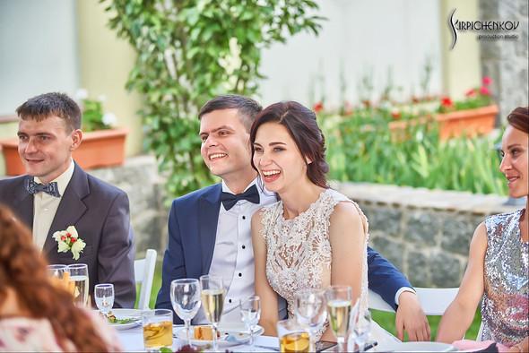 Свадьба на природе возле частного дома с выездной церемонией - фото №77