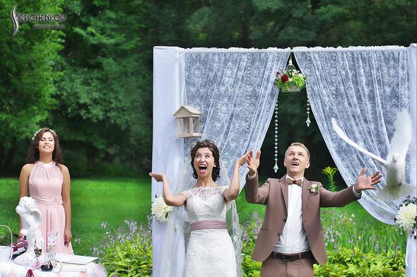 Свадебные фото в яблочном саду, г. Чернигов - фото №66