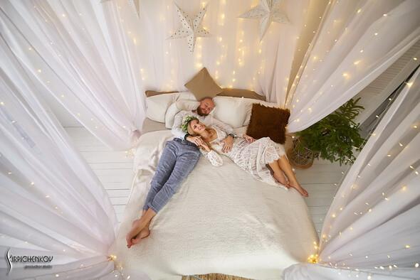 Свадебные фото в Оранжерее в Киеве, студийная сьемка в фотостудии Счастье - фото №38