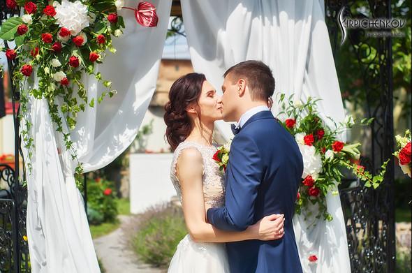 Свадьба на природе возле частного дома с выездной церемонией - фото №24