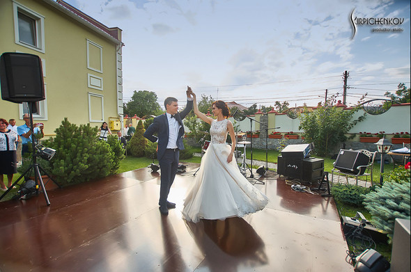 Свадьба на природе возле частного дома с выездной церемонией - фото №78