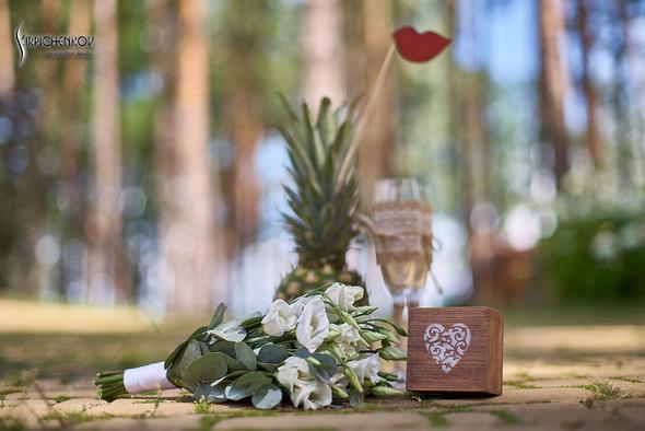 Свадебные фото в Сухолучье, Киевское море и сьемка в поле  - фото №43