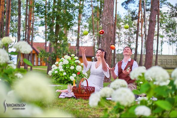 Свадебные фото в Сухолучье, Киевское море и сьемка в поле  - фото №40