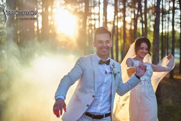 Свадебные фото на территории Соби Клаб, выездная церемония - фото №97