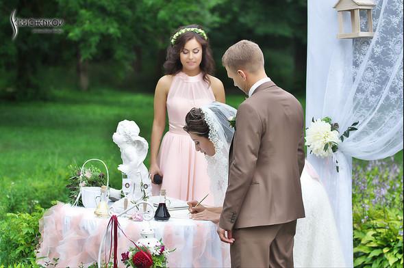 Свадебные фото в яблочном саду, г. Чернигов - фото №58