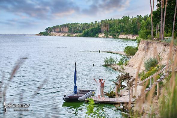 Свадебные фото в Сухолучье, Киевское море и сьемка в поле  - фото №3