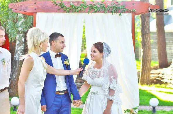 Свадебные фото на Мануфактуре и выездная церемония в ресторане Kidev - фото №74