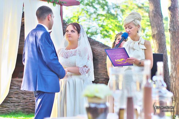 Свадебные фото на Мануфактуре и выездная церемония в ресторане Kidev - фото №77