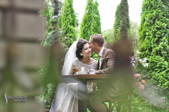 Свадебные фото в яблочном саду, г. Чернигов - фото №37