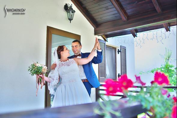 Свадебные фото на Мануфактуре и выездная церемония в ресторане Kidev - фото №31