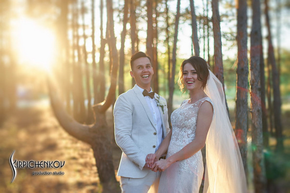 Свадебные фото на территории Соби Клаб, выездная церемония - фото №95