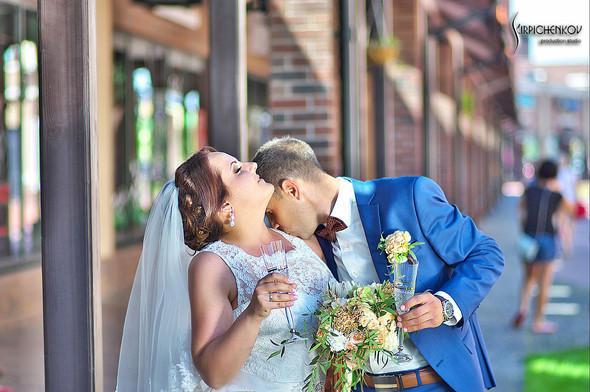 Свадебные фото на Мануфактуре и выездная церемония в ресторане Kidev - фото №55