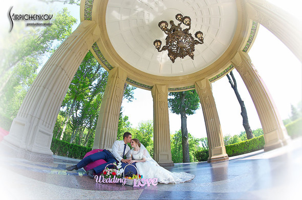 Свадебные фото в каньоне Буки и выездная церемония в ресторане Фортеця - фото №67