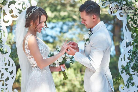 Свадебные фото на территории Соби Клаб, выездная церемония - фото №80