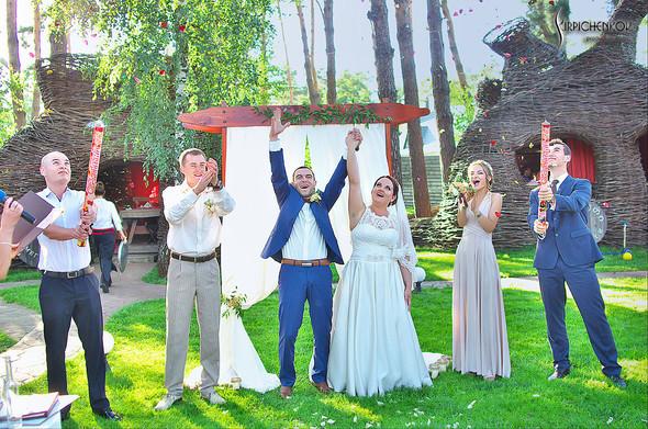 Свадебные фото на Мануфактуре и выездная церемония в ресторане Kidev - фото №85