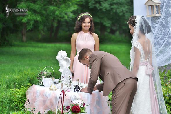 Свадебные фото в яблочном саду, г. Чернигов - фото №59