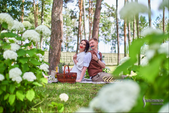 Свадебные фото в Сухолучье, Киевское море и сьемка в поле  - фото №42
