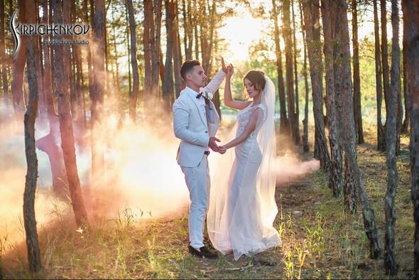 Свадебные фото на территории Соби Клаб, выездная церемония - фото №91