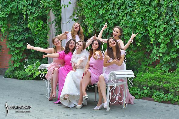 Свадебные фото в каньоне Буки и выездная церемония в ресторане Фортеця - фото №74