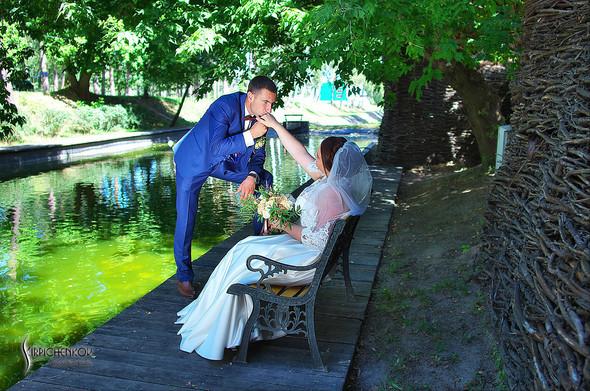 Свадебные фото на Мануфактуре и выездная церемония в ресторане Kidev - фото №34
