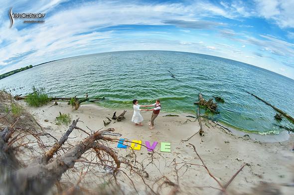 Свадебные фото в Сухолучье, Киевское море и сьемка в поле  - фото №13