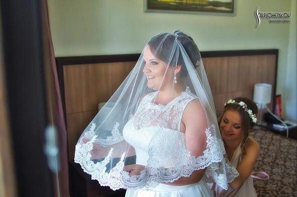 Свадебные фото на Мануфактуре и выездная церемония в ресторане Kidev - фото №12