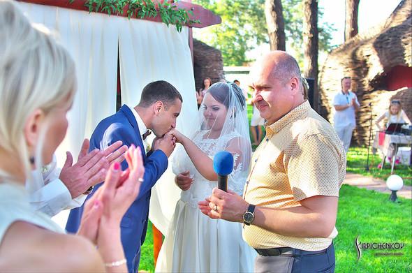 Свадебные фото на Мануфактуре и выездная церемония в ресторане Kidev - фото №71