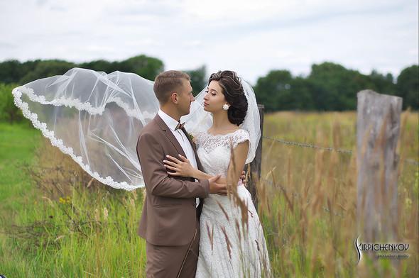 Свадебные фото в яблочном саду, г. Чернигов - фото №20