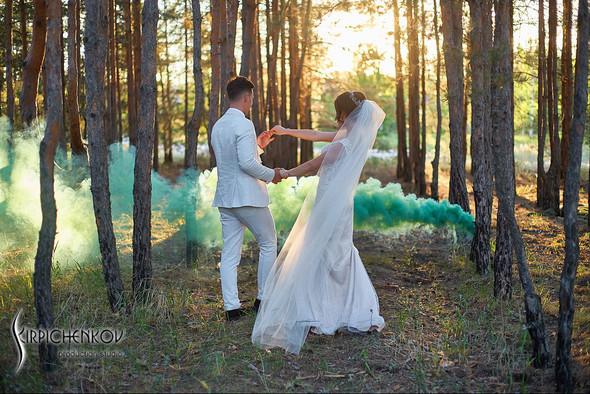 Свадебные фото на территории Соби Клаб, выездная церемония - фото №93
