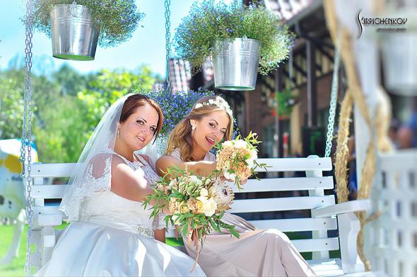 Свадебные фото на Мануфактуре и выездная церемония в ресторане Kidev - фото №56