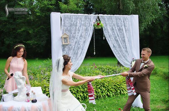 Свадебные фото в яблочном саду, г. Чернигов - фото №64